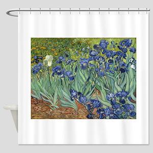 Van Gogh Iris Shower Curtain