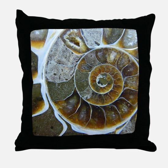 Cute Fossils Throw Pillow