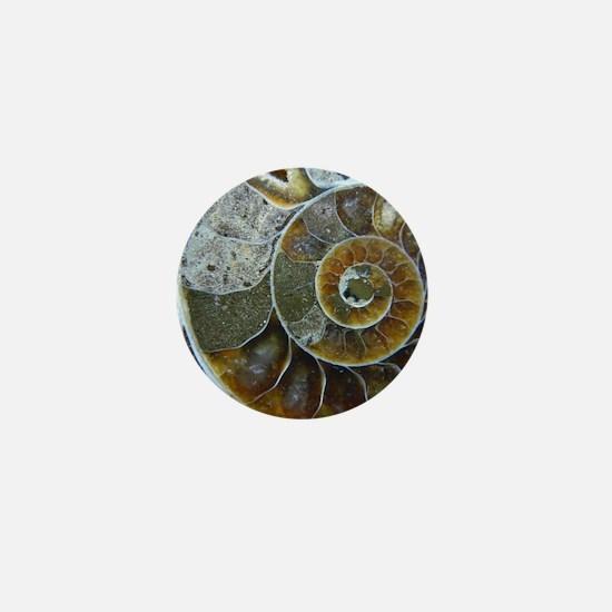 Unique Fossil Mini Button