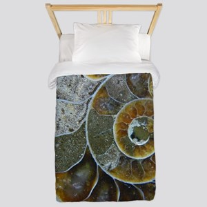 Ammonite Twin Duvet