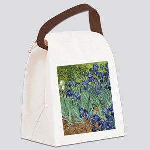 Van Gogh Iris Canvas Lunch Bag