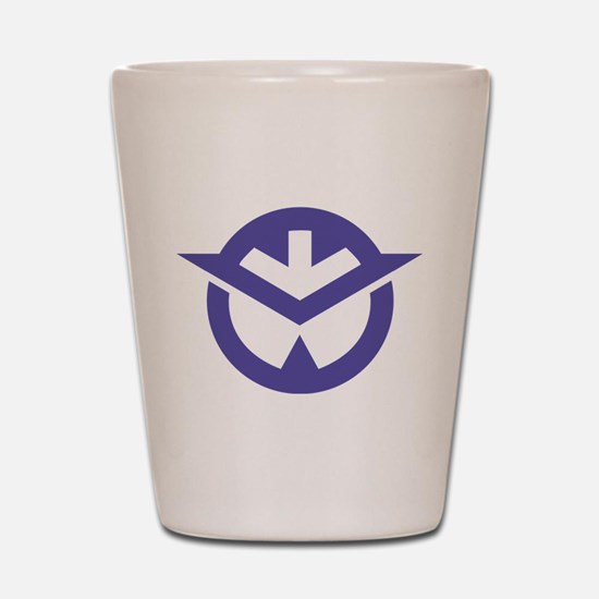 Okayama Symbol Shot Glass