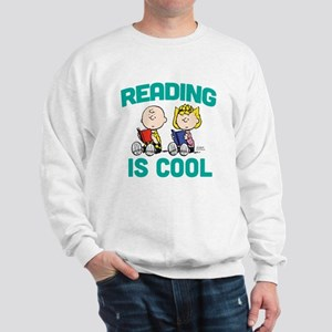 Charlie & Sally Brown-Reading is Cool Sweatshirt