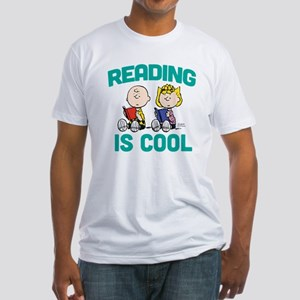 Charlie & Sally Brown-Reading is Co Fitted T-Shirt