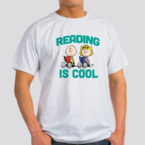 Charlie & Sally Brown-Reading is Coo Light T-Shirt