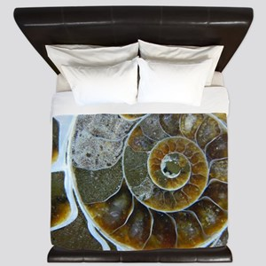 Ammonite King Duvet