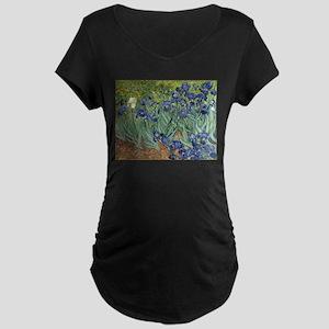 Van Gogh Iris Maternity T-Shirt