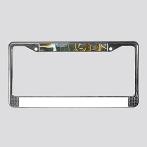 Ammonite License Plate Frame