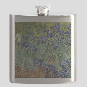 Van Gogh Iris Flask