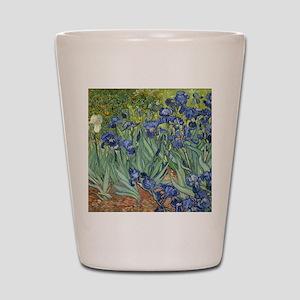 Van Gogh Iris Shot Glass