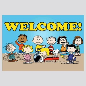 Peanuts Gang-Welcome Wall Art