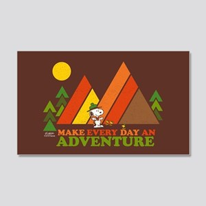 Snoopy-Make Every Day An Adventur 20x12 Wall Decal