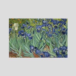 Van Gogh Iris Magnets