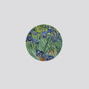 Van Gogh Iris Mini Button