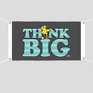 Woodstock-Think Big Banner