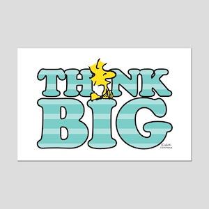 Woodstock-Think Big Mini Poster Print