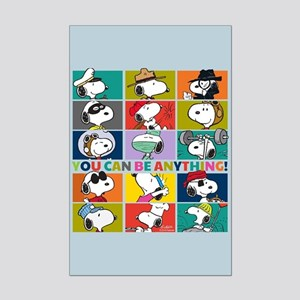 Snoopy-You Can Be Anything Mini Poster Print