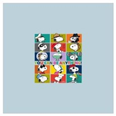 Snoopy-You Can Be Anything Wall Art Canvas Art
