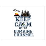 keep calm duhamel Small Poster