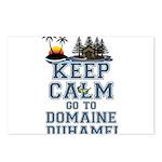 keep calm duhamel Postcards (Package of 8)