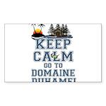 keep calm duhamel Sticker