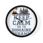 keep calm duhamel Wall Clock