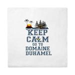 keep calm duhamel Queen Duvet
