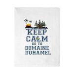 keep calm duhamel Twin Duvet