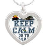keep calm duhamel Necklaces