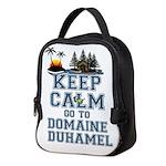 keep calm duhamel Neoprene Lunch Bag