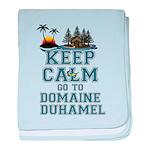 keep calm duhamel baby blanket