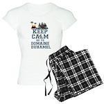 keep calm duhamel pajamas