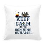 Keep Calm Duhamel Everyday Pillow