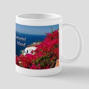 Santorini Greece Island Travel Mugs