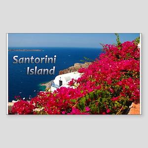 Santorini Greece Island Travel Sticker