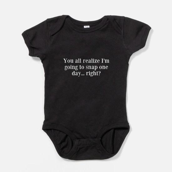 You All Again Baby Bodysuit