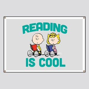 Charlie & Sally Brown-Reading is Cool Banner