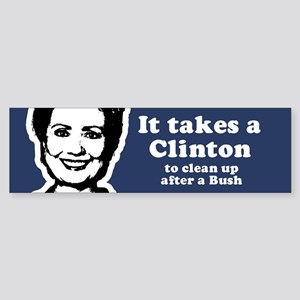 I heart Hillary Bumper Sticker