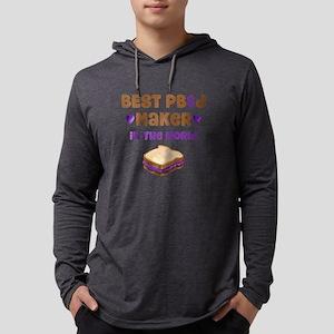 World's Best PBJ Maker Mens Hooded Shirt
