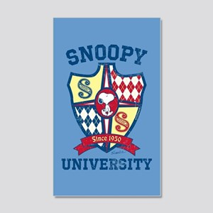 Snoopy University 20x12 Wall Decal