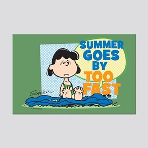 Lucy-Summer Goes By Too Fast Mini Poster Print