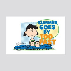 Lucy-Summer Goes By Too Fast Posters