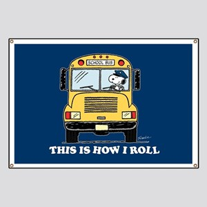 Snoopy - This Is How I Roll Banner