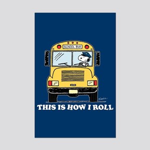 Snoopy - This Is How I Roll Mini Poster Print