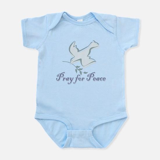 Pray for Peace Infant Bodysuit
