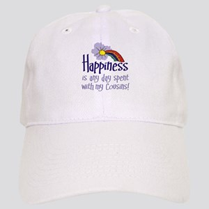 HAPPINESS IS DAY W  MY COUSINS Cap e29a075b46e9