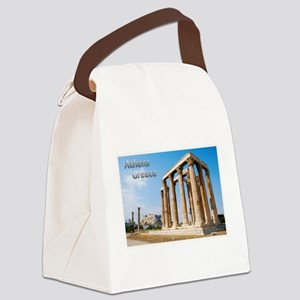 Athens Greece Travel Canvas Lunch Bag
