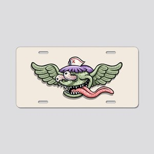 Wingy Monster RN Aluminum License Plate