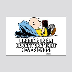 Charlie Brown - Reading is an Ad Mini Poster Print