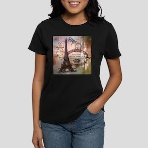 Eiffel tower collage T-Shirt